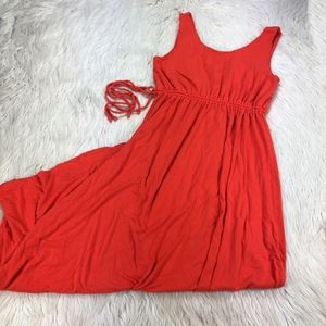 Nicole Miller Jersey Sleeveless Maxi Dress